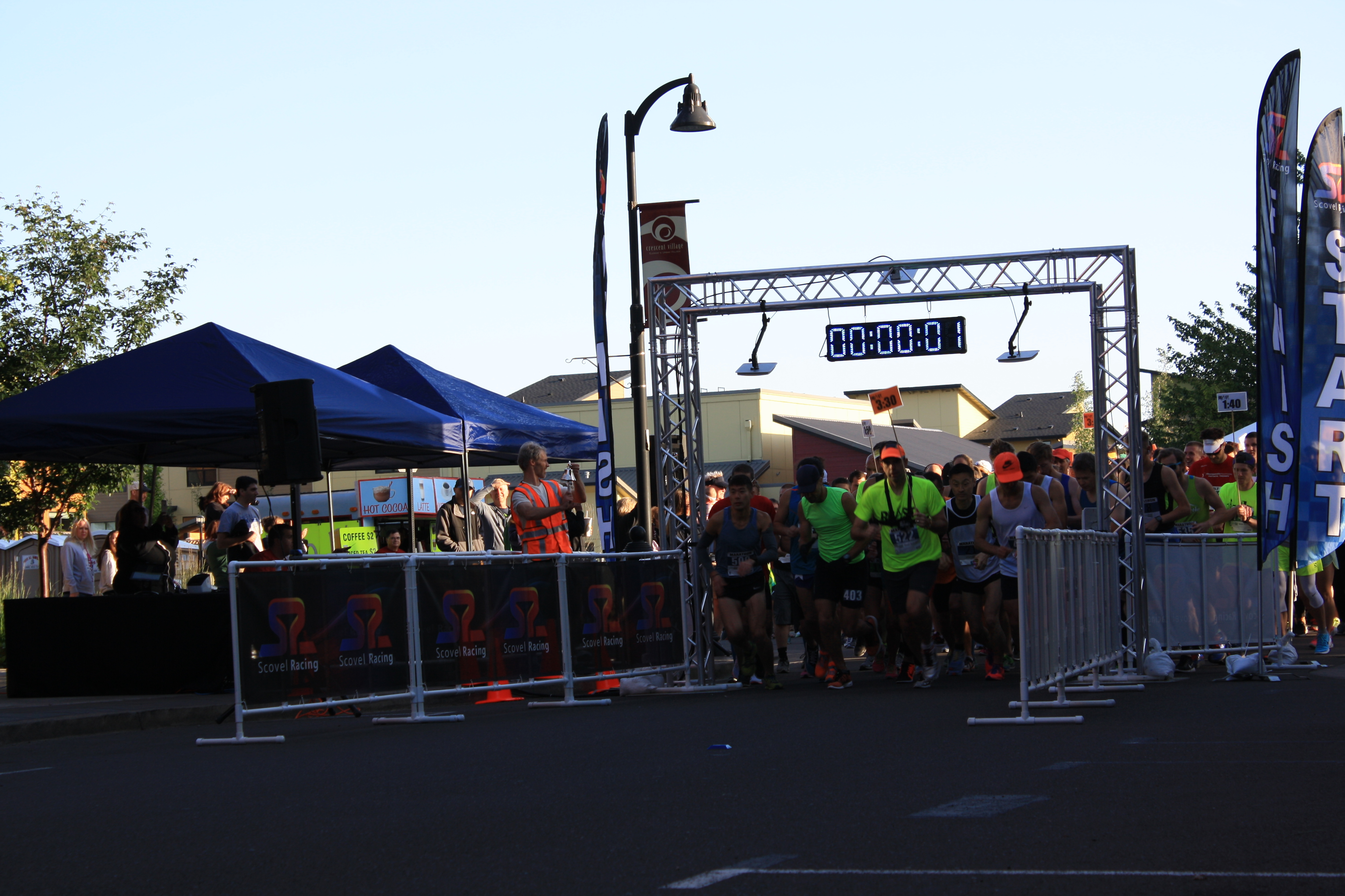 How to Choose a Marathon 2016 Start On Time