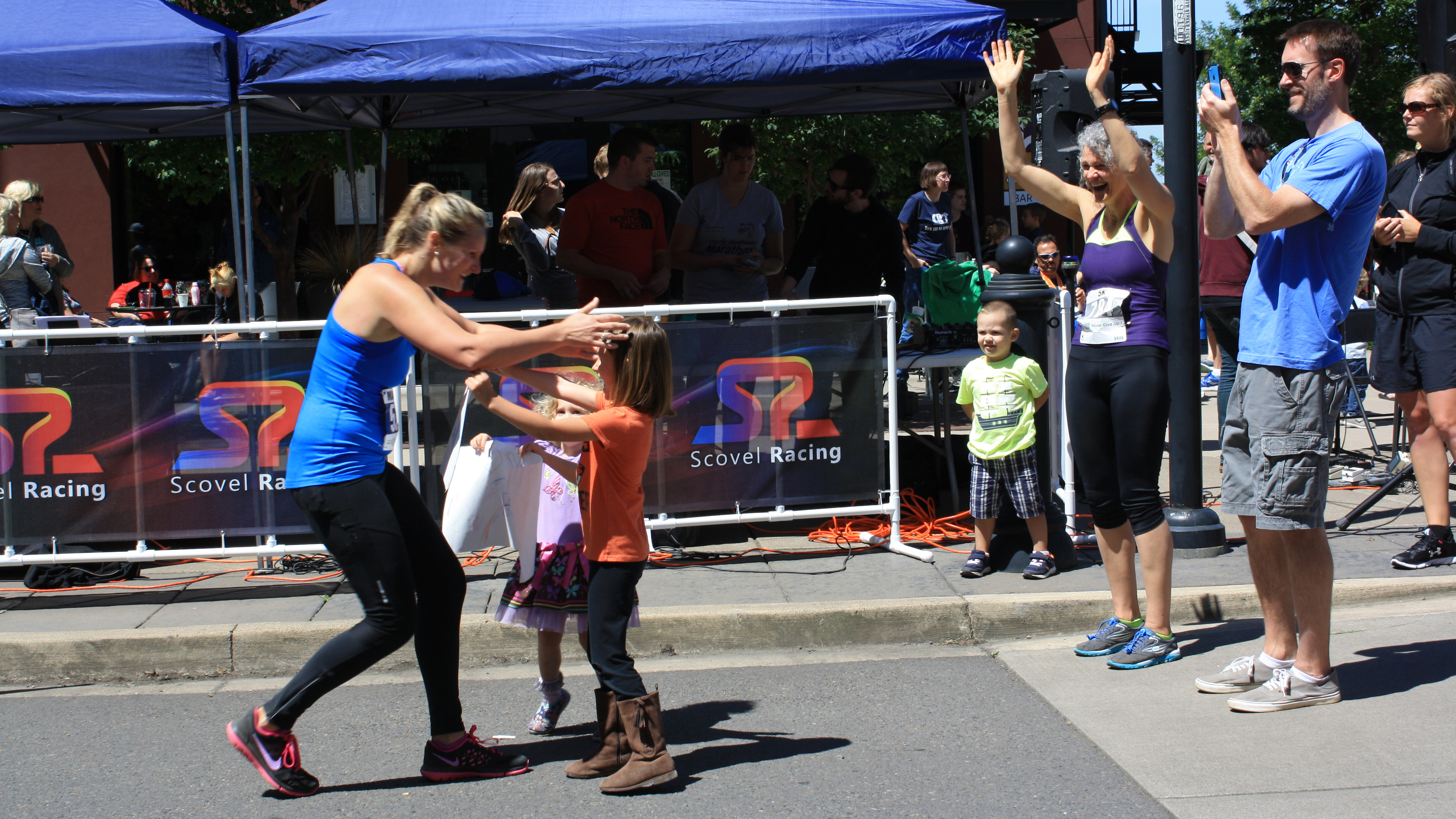 How to Choose a Marathon, Mom Finishes and Runs Into Arms of Daughter