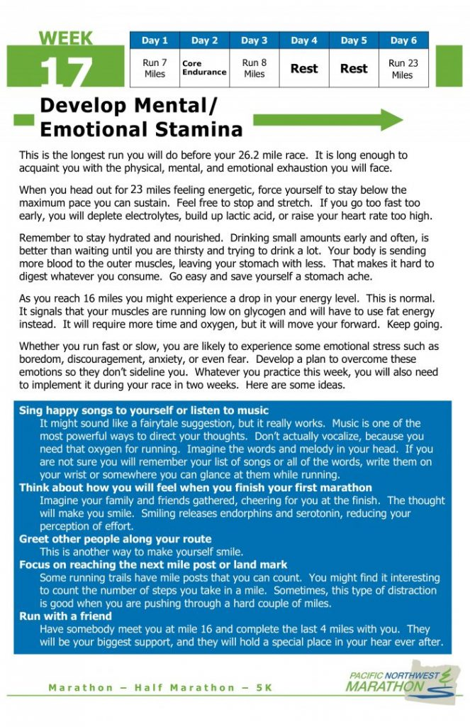 Week 17 Develop Mental and Emotional Stamina - Pacific